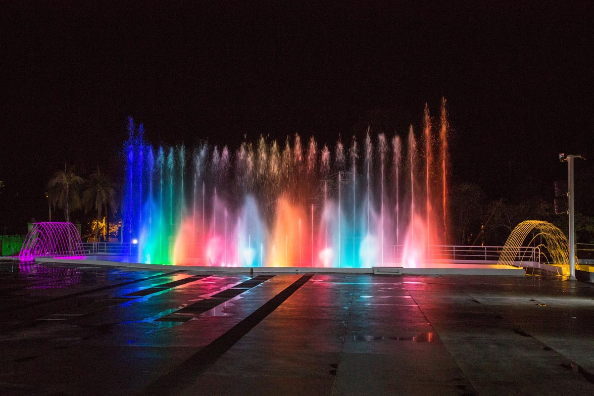 Cafalandia Theme Park Group of Fountains