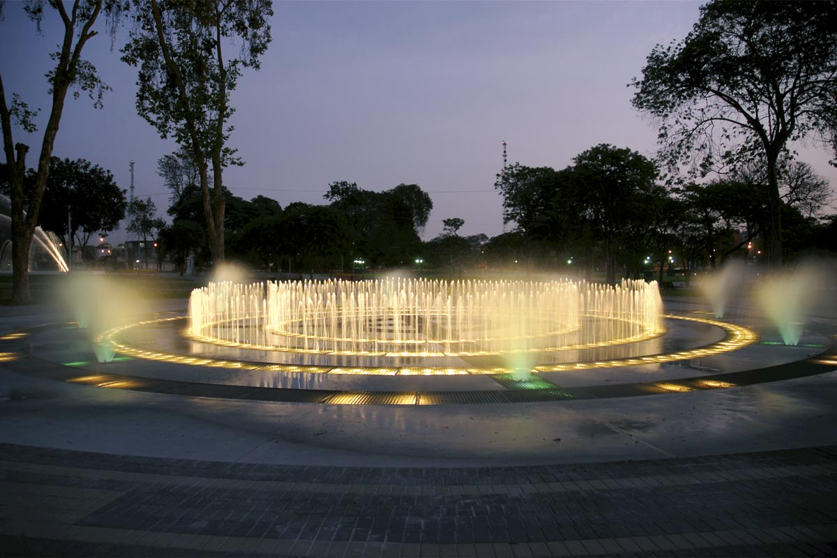 Parque de la Reserva Group of Fountains: Magic Maze