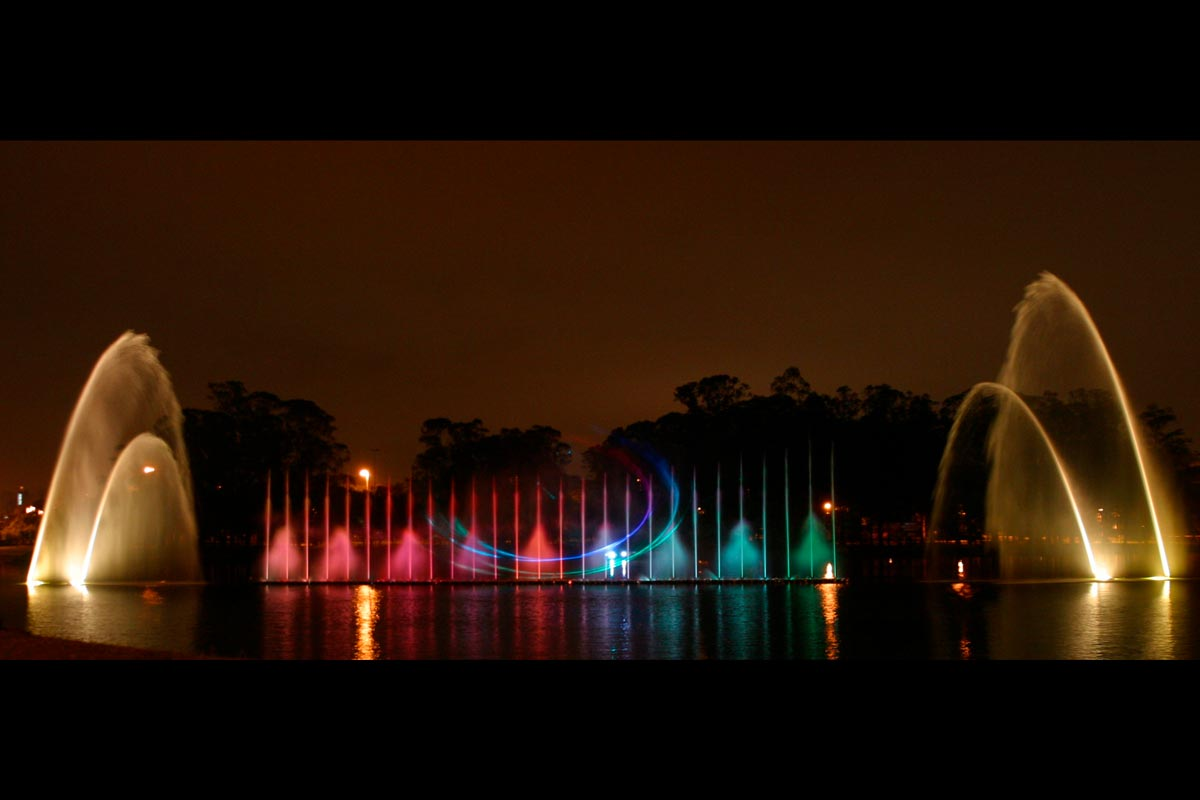 Ibirapuera Lake Floating Fountain