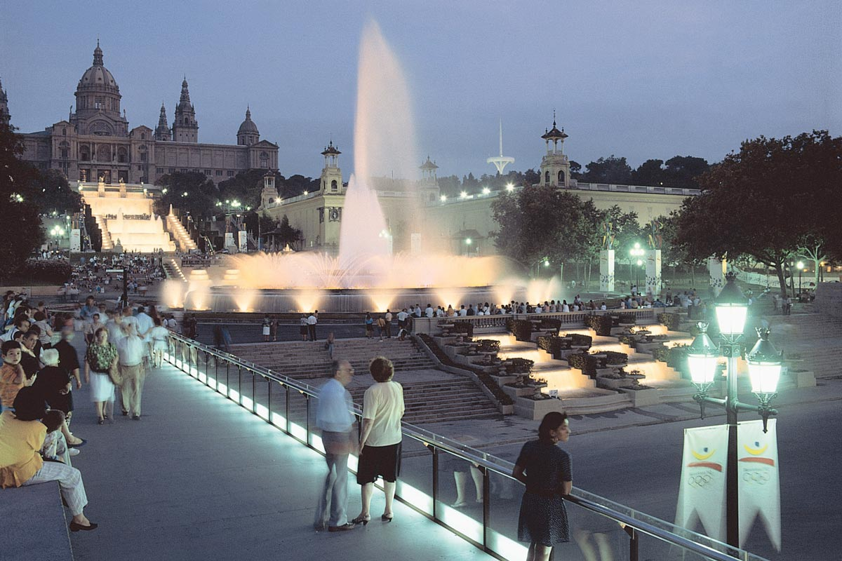 Magic Fountain of Montjuic Cascades Restoration
