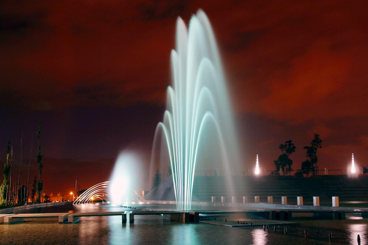 Parque dos Poetas Ornamental Fountains