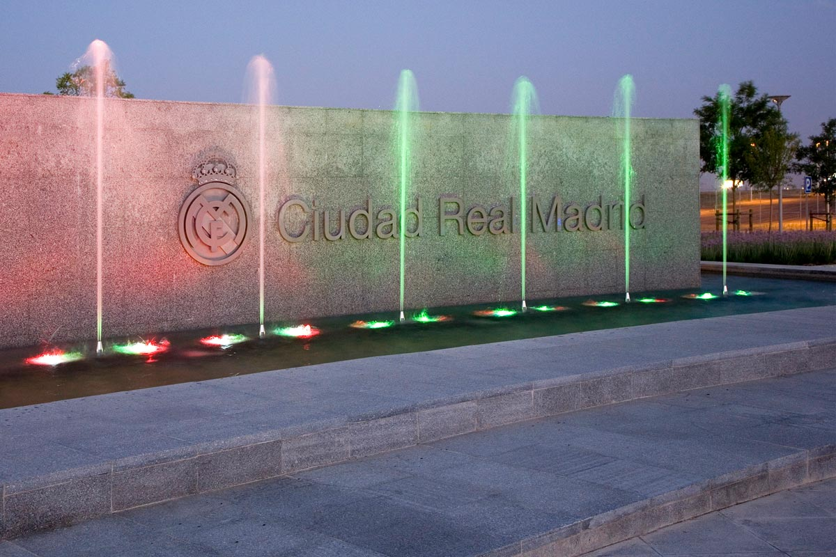 Real Madrid City Ornamental Fountains