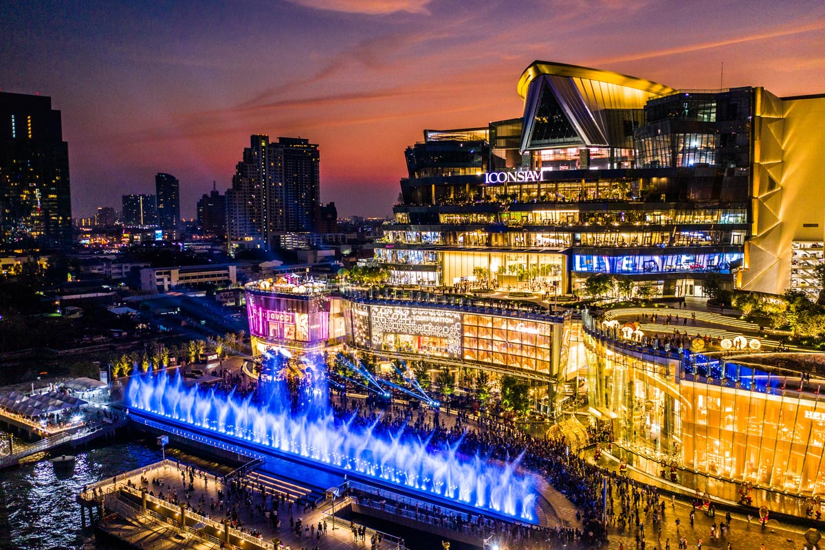 Iconsiam Shopping Center Multimedia Fountain